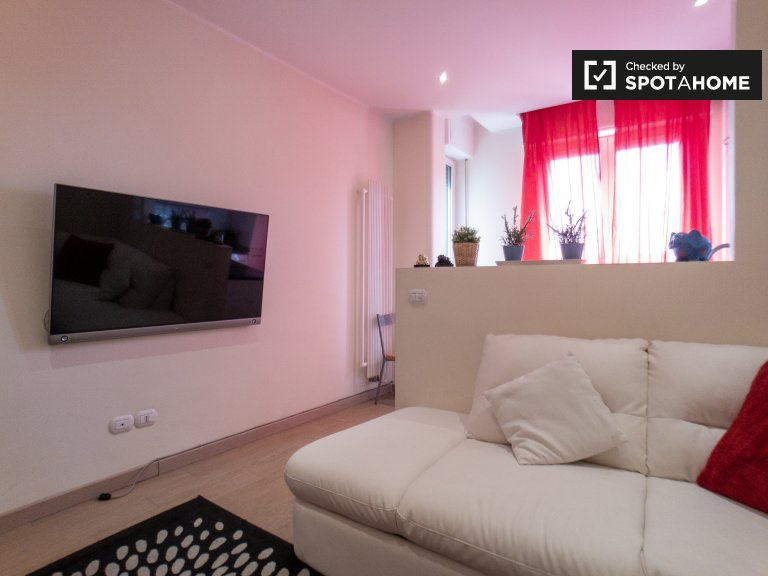 Comfy apartment with 1 bedroom for rent in Centrale, Milan
