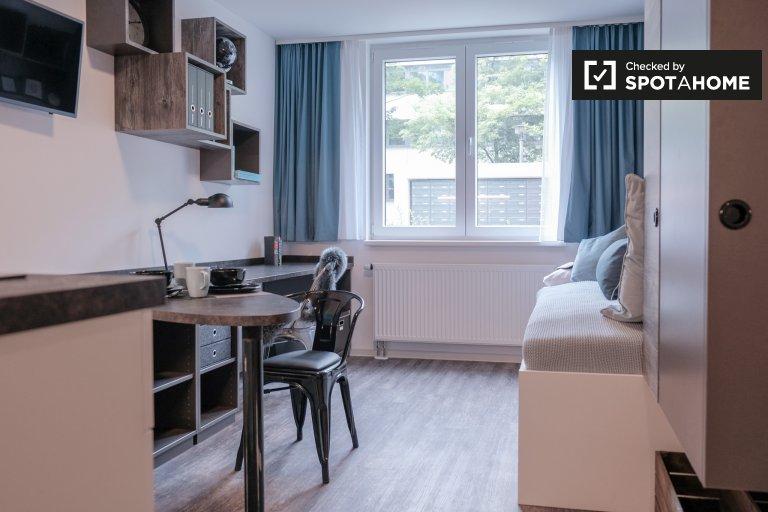 Stylowy apartament typu studio do wynajęcia w Lichtenberg, Berlin