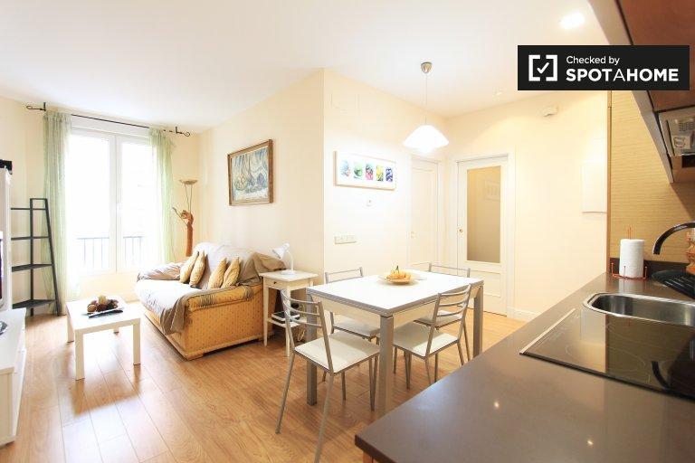 Elegancki 3-pokojowy apartament do wynajęcia w Salamance w Madrycie
