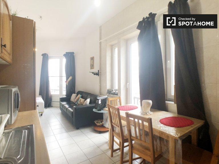 1-pokojowe mieszkanie do wynajęcia w Laeken, Bruksela