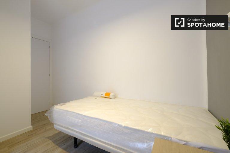 Chambre tendance à louer dans un appartement de 3 chambres à Getafe