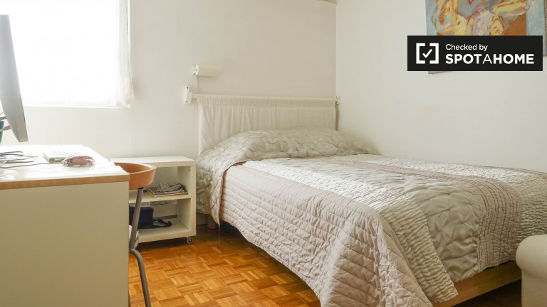 Spacious room in 2-bedroom apartment in Menilmontant, Paris