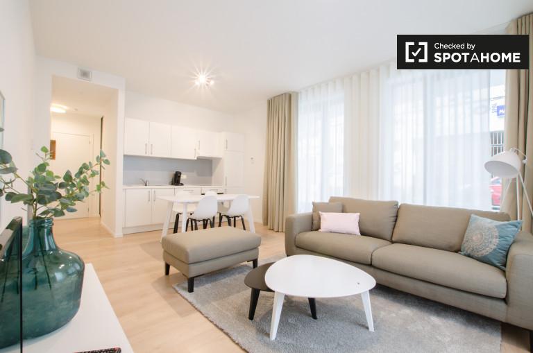 Elegante appartamento in affitto 1 camera da letto, Saint Josse, Brussels
