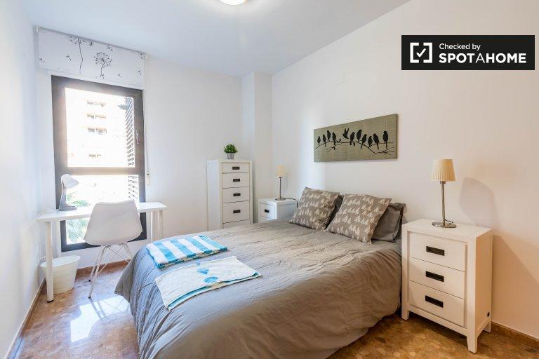 Chambre double à louer Appartement 3 chambres Benimaclet Valence