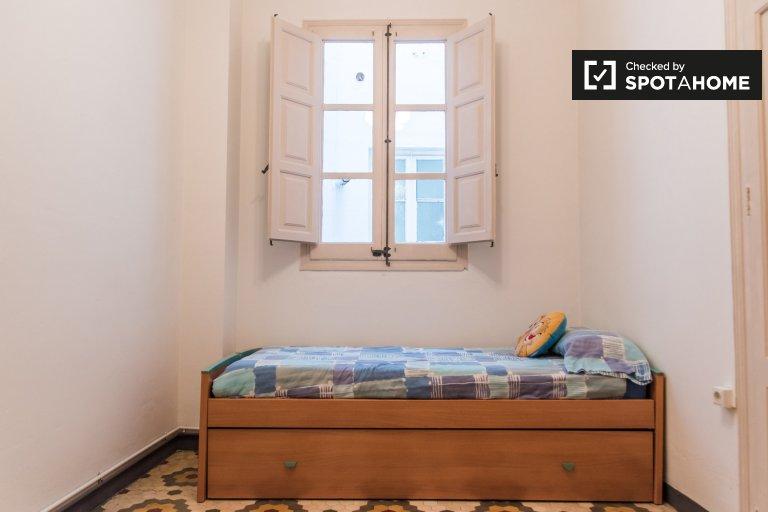 Habitación individual en alquiler, apartamento de 5 dormitorios, L'Eixample