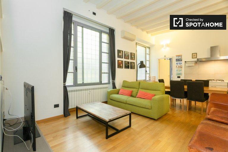 Apartamento com 2 quartos para alugar em Porta Romana, Milão