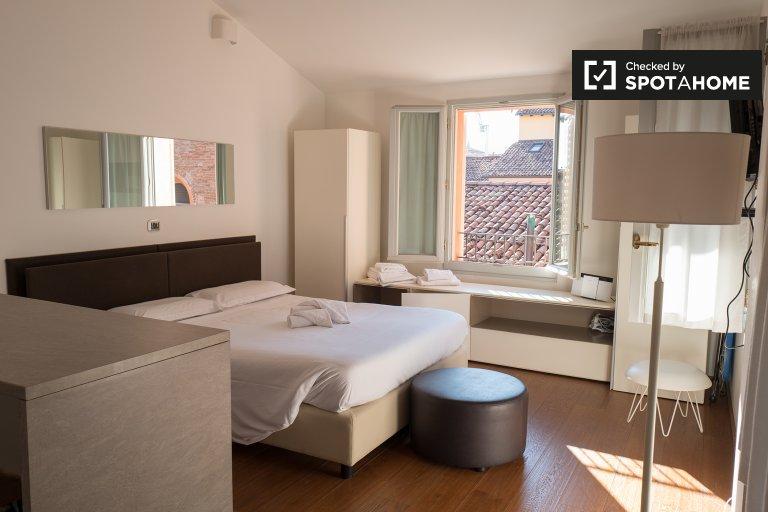 Sonnige Studio-Wohnung zur Miete in Galvani, Bologna