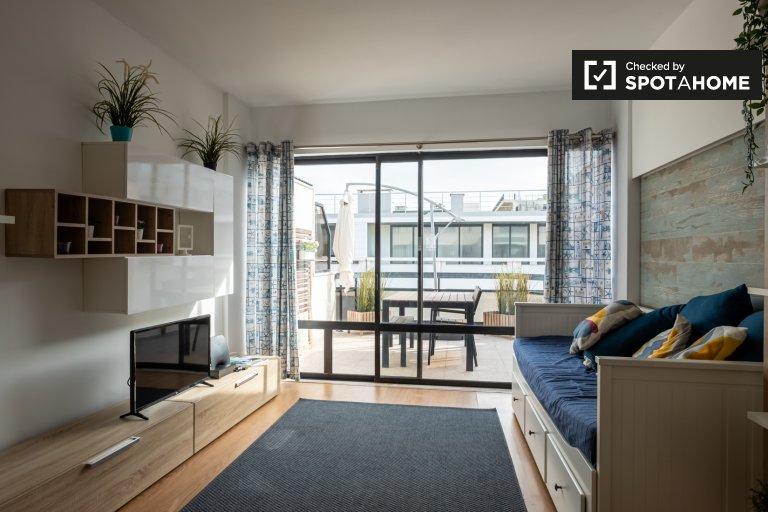 1-Zimmer-Wohnung zur Miete in Costa da Caparica, Lissabon
