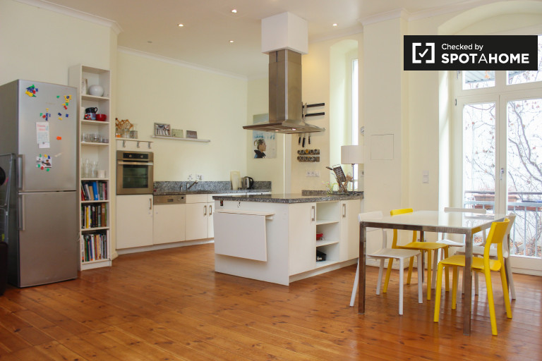 Apartamento de 2 dormitorios en alquiler en Prenzlauer Berg, Berlín