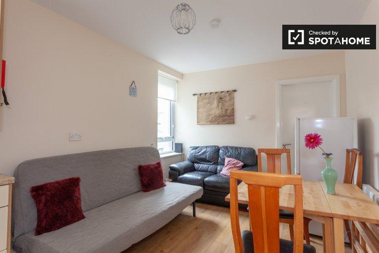Apartamento mobiliado com 1 quarto para alugar em Drumcondra, Dublin