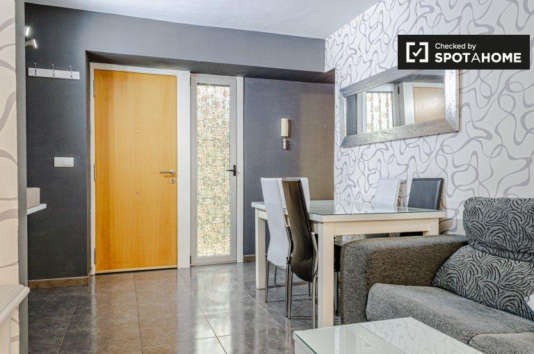 Kühne 2-Zimmer-Wohnung zur Miete in L'Olivereta, Valencia