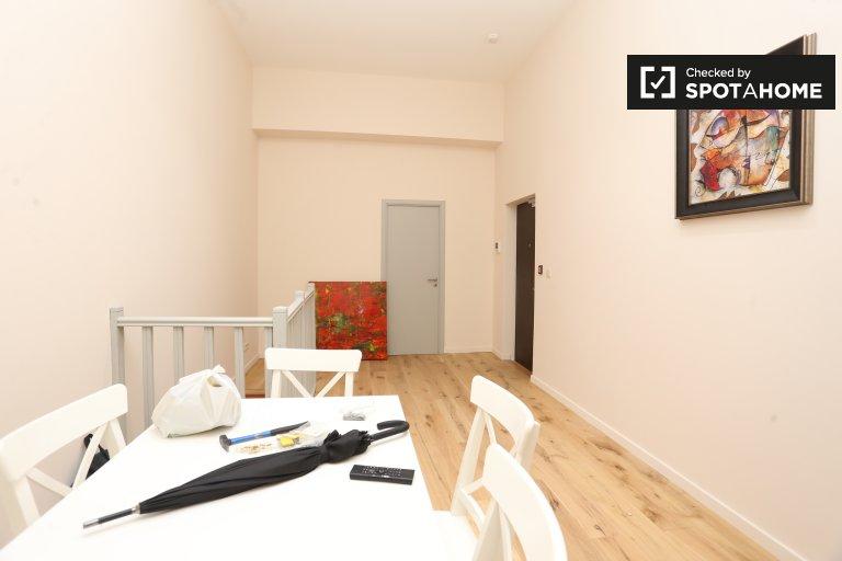 Brüksel'de kiralık 3 odalı geniş daire