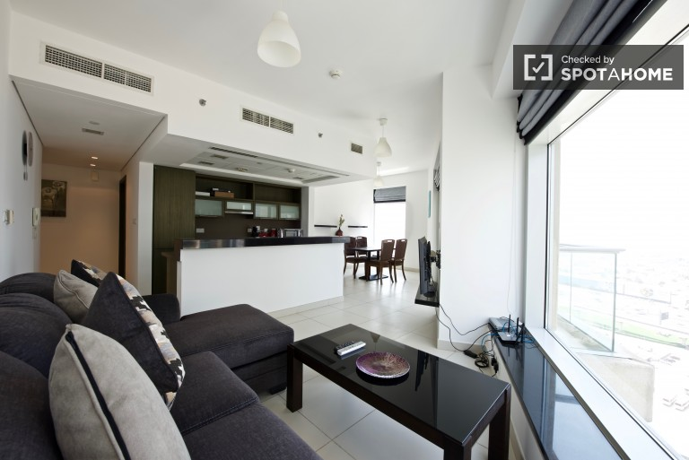 1 Bedroom Apartment With Balcony For Rent In Downtown Dubai (ref: 106682) |  Spotahome