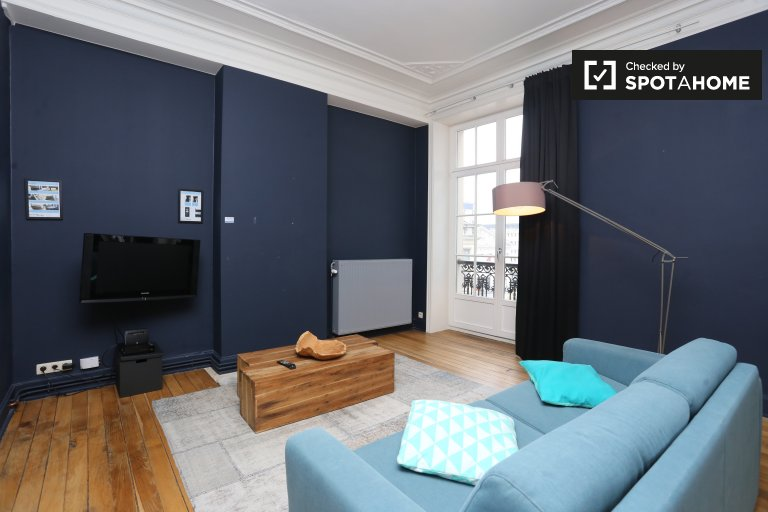 Modern 2-bedroom apartment in Brussels City Center