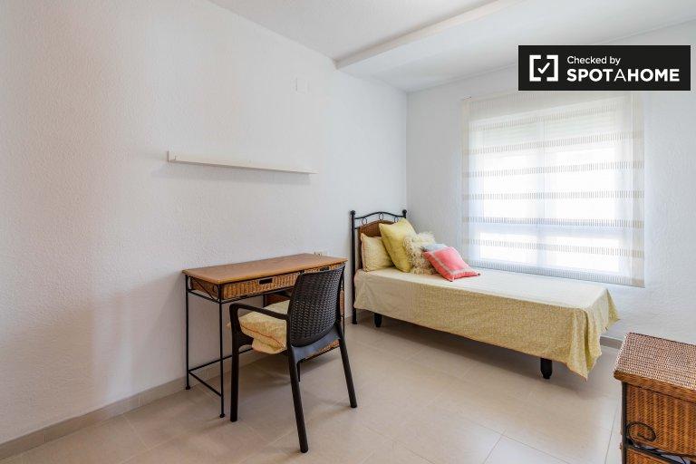 Chambre à louer, appartement de 4 chambres à coucher, Campanar, Valence