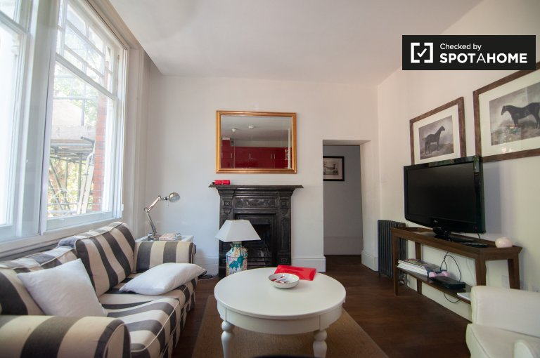 Modern 1-bedroom flat to rent in Kensington & Chelsea