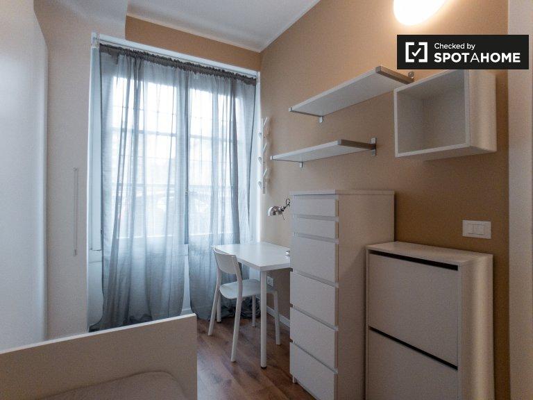 Acogedora habitación en un apartamento de 2 dormitorios en San Siro, Milán
