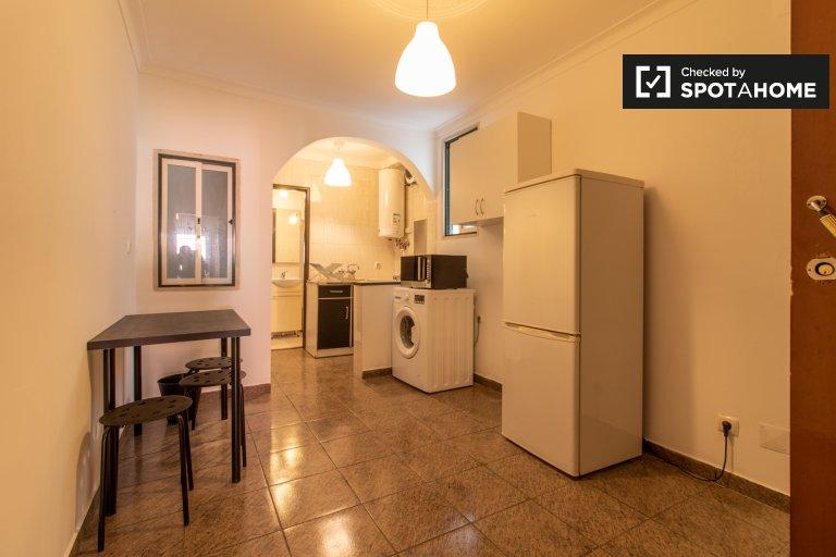 1-Zimmer-Wohnung zur Miete in Bairro Alto, Lissabon