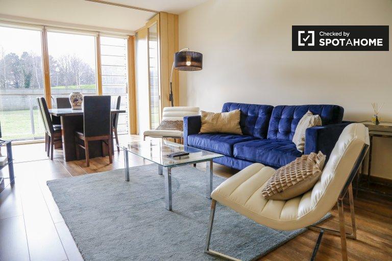 Incrível apartamento de 2 quartos para alugar em Ballsbridge, Dublin