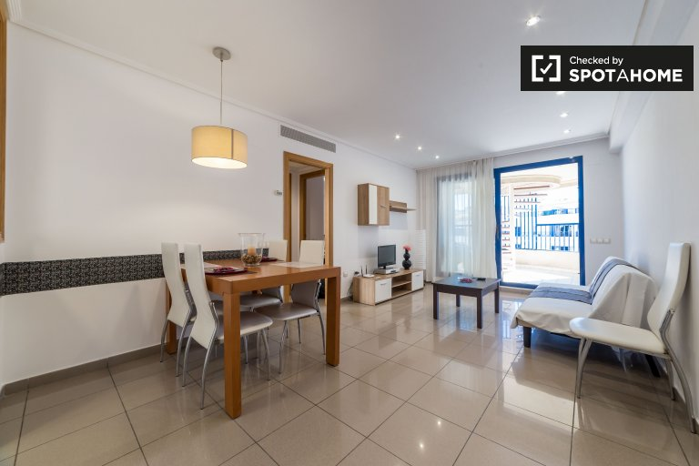 Alboraya, Valensiya'da kiralık 2 odalı daire