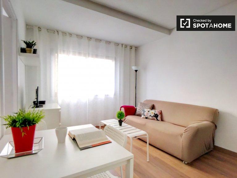 Luminoso appartamento in affitto a Salamanca, Madrid 1 camera da letto