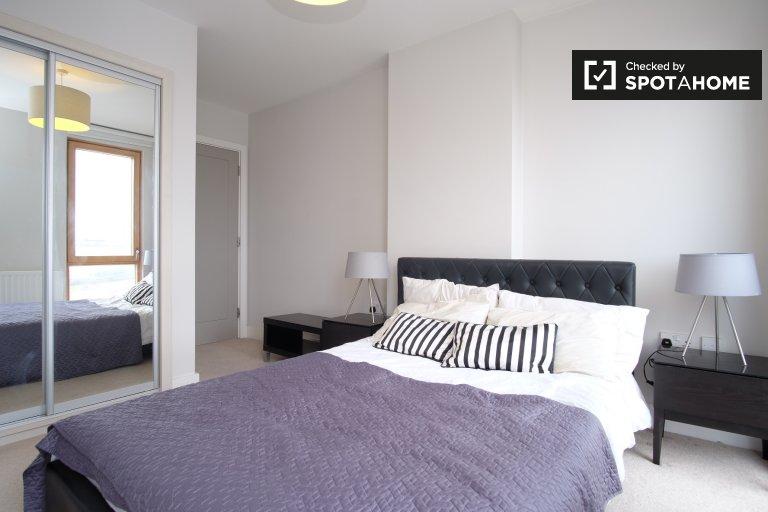 Słoneczny pokój w 4-pokojowym mieszkaniu w wiosce Aberfeldy