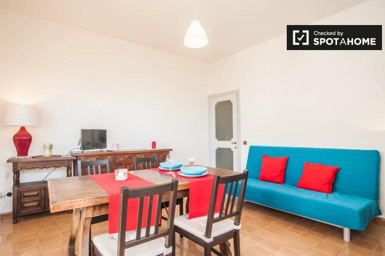Appartement ensoleillé de 1 chambre à louer à Ostia, Rome