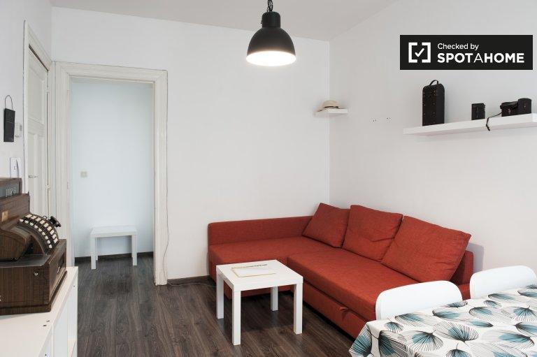 Charmant appartement 1 chambre à louer à Schaerbeek, Bruxelles