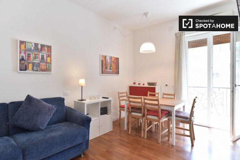 Bel appartement 1 chambre à louer à Centocelle, Rome