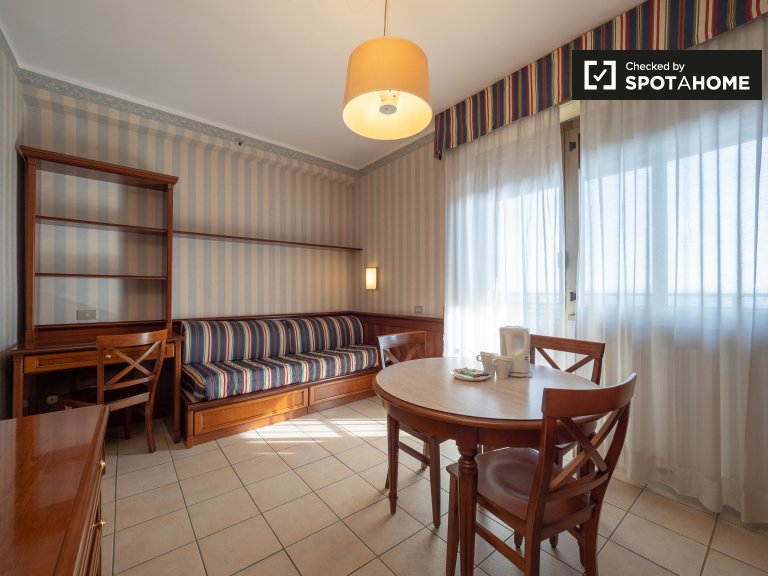 Confortable appartement 1 chambre à louer à Pieve Emanuele, Milan