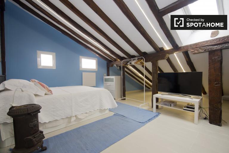 Apartamento estúdio para alugar no centro da cidade, Madrid
