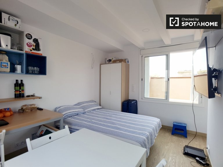 Studio for rent on the Barceloneta, Barcelona