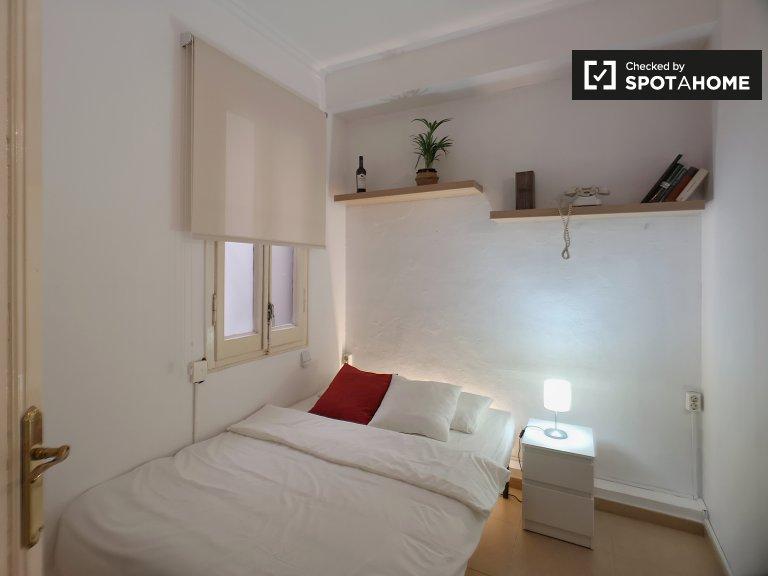 Pokój do wynajęcia w mieszkaniu z 2 sypialniami w Vila de Gràcia