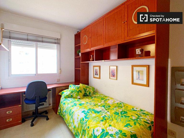 Habitación individual en alquiler, apartamento de 3 dormitorios, Vicálvaro, Madrid