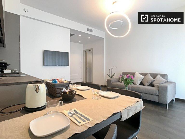 Stylish 1-bedroom apartment for rent in Washington, Milan