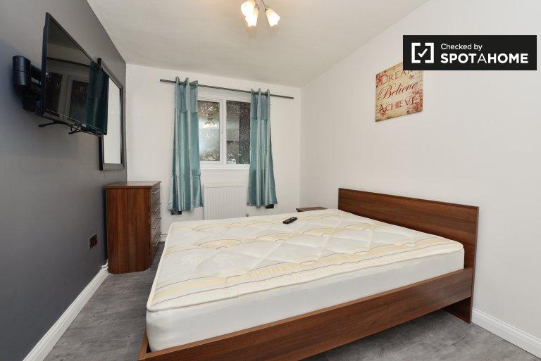 Zapraszany pokój w 5-pokojowym mieszkaniu w Putney w Londynie