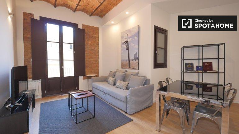 Trendy 2-bedroom apartment for rent in L'Eixample, Barcelona