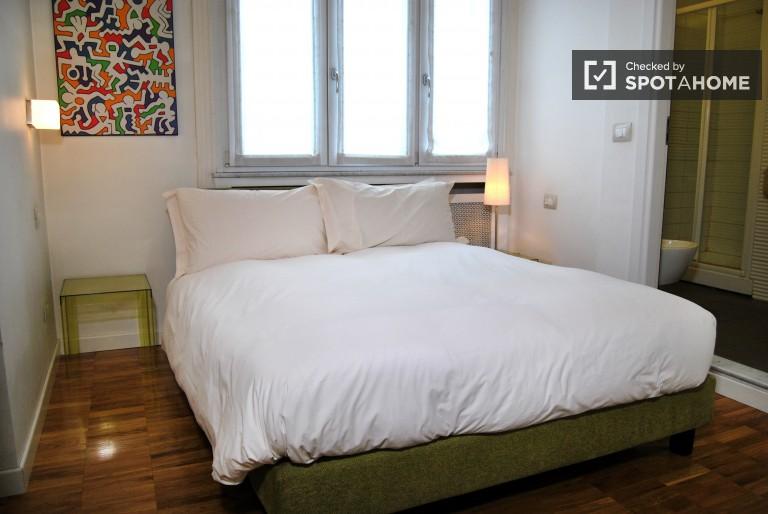 Acolhedor apartamento de 1 quarto para alugar em Porta Nuova, Milão