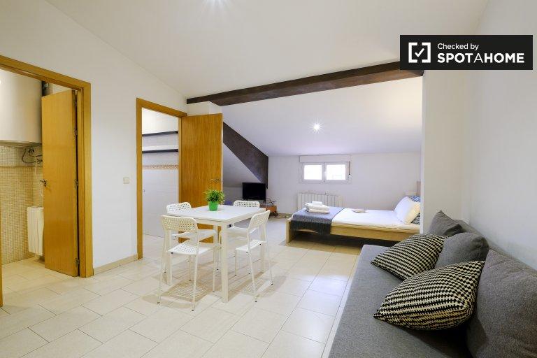 Gemütliches Studio-Apartment zur Miete in Centro, Madrid