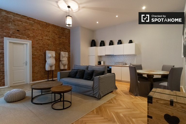 Apartament z 1 sypialnią do wynajęcia w Charlottenburg, Berlin