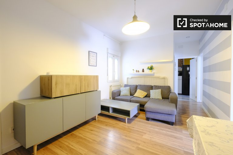 Tranquil 3-bedroom apartment for rent in Tetuán, Madrid