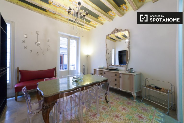 2-bedroom apartment for rent in the Barri Gòtic, Barcelona