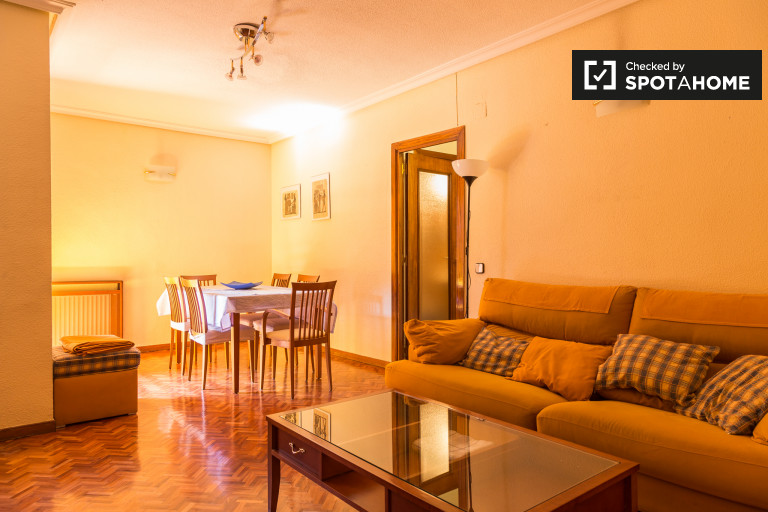 Rooms for rent in cosy 3-bedroom apartment in Salamanca