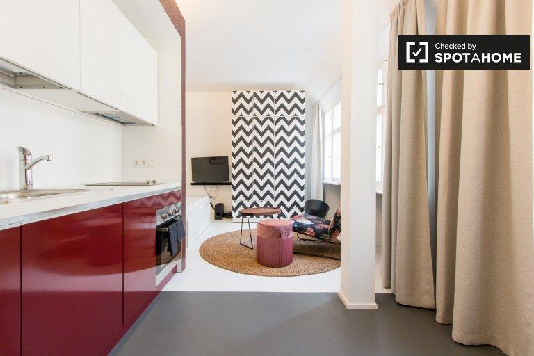 Acolhedor apartamento de estúdio para alugar em Kreuzberg, Berlim
