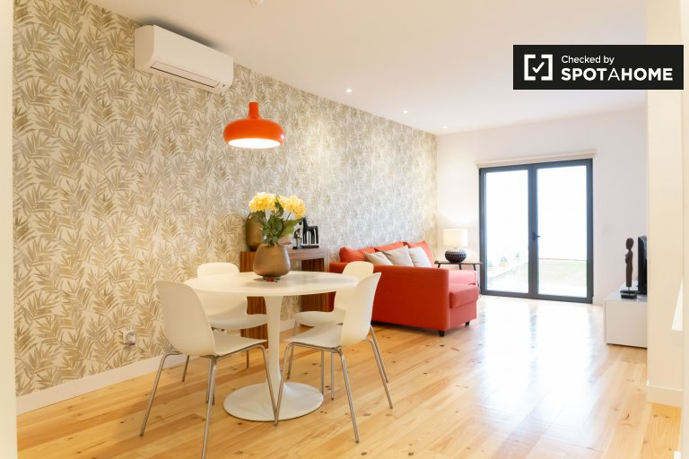 Spacious 1-bedroom apartment for rent in Ajuda, Lisbon