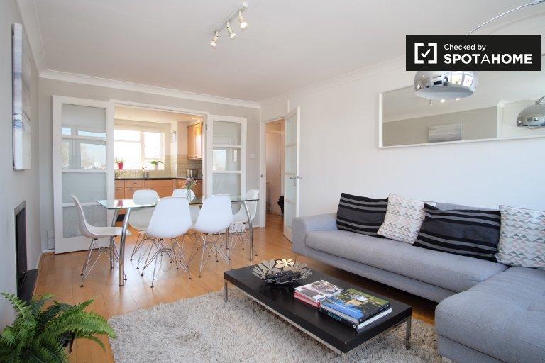 Elegante apartamento de 2 quartos para alugar em Kensington, Londres