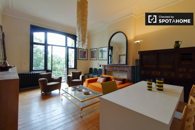 Apartamento de 1 quarto para alugar em Saint Gilles, Bruxelas