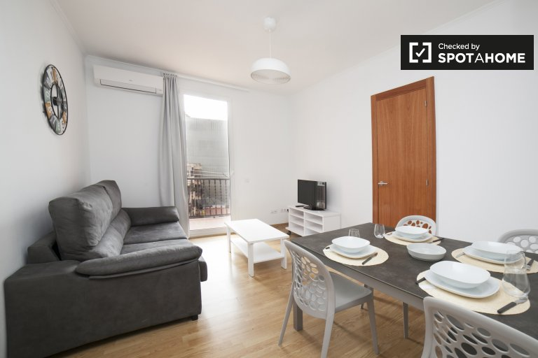 3-bedroom apartment for rent in Poblenou