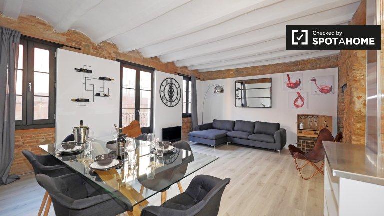 appartement de 2 chambres à louer à El Raval, Barcelona