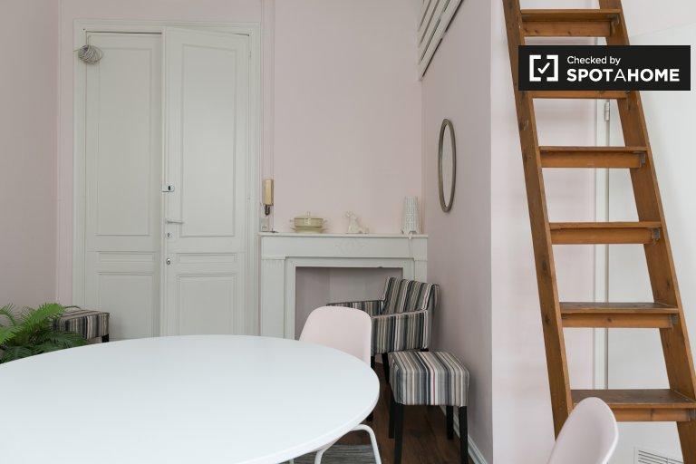 Monolocale in affitto a Ixelles, Bruxelles